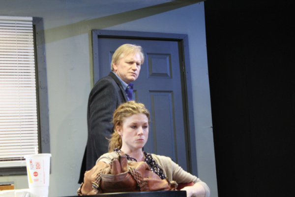 Betsy Bowman as Una and Jim Poole as Ray Photo