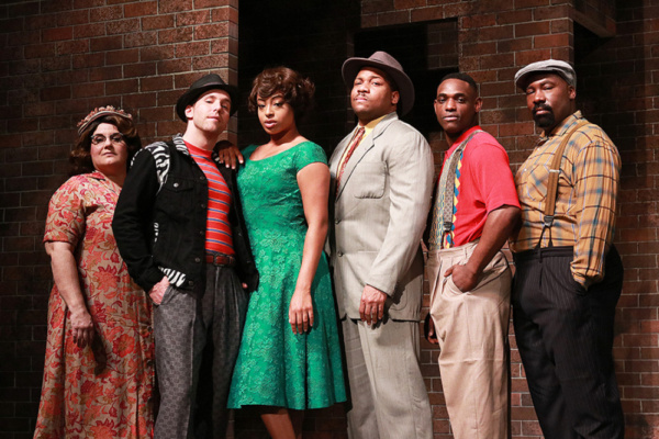 Margot Moreland, Eddie Egan, Gabrielle Graham, Chaz Rose, David Berry and Jerrial T. Young.