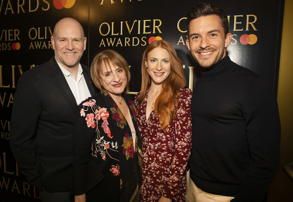 Photo Flash: Bendy Ashfield, Vivien Wallace, and More Receive Special Recognition Olivier Awards