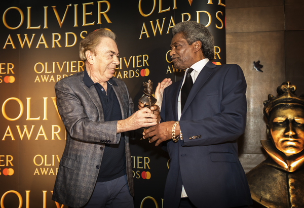 Linford Hudson and Andrew Lloyd Webber