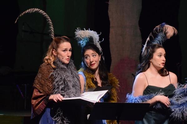 Julia Bain, Alexandra Imbrosci-Viera and Megan Gallagher Photo