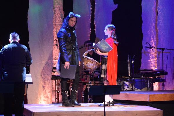 Constantine Maroulis and Ayla Schwartz