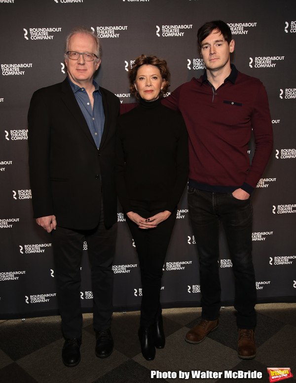 Tracy Letts, Annette Bening and Benjamin Walker  Photo