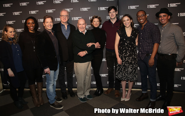 Jenni Barber, Chinasa Ogbuagu, Michael Hayden, Tracy Letts, director Jack O'Brien, An Photo