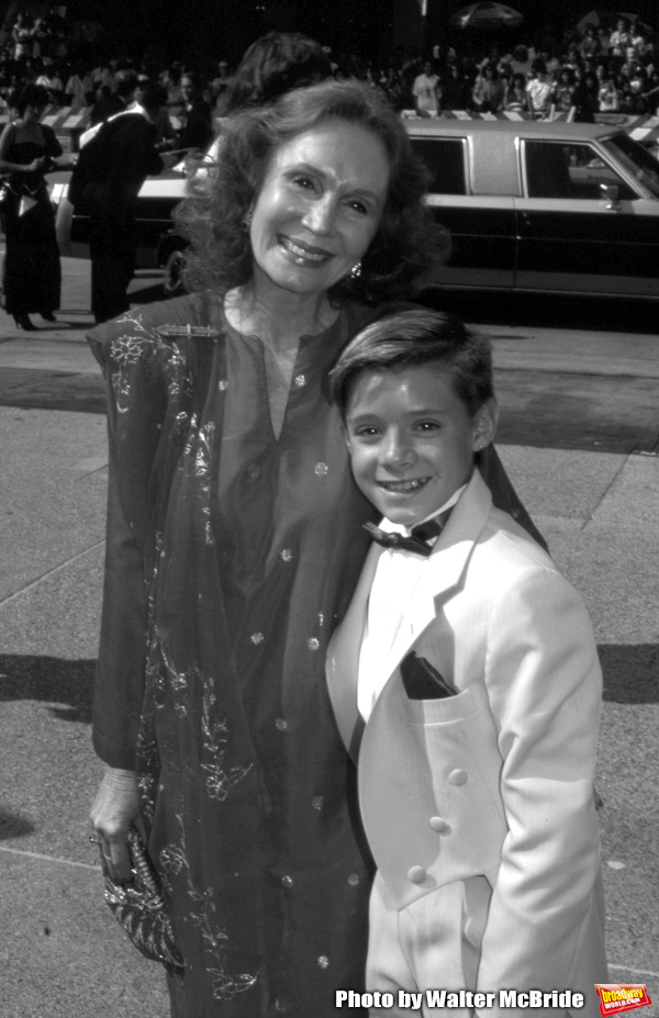 Katherine Helmond and Danny Pinto attend 41st Annual Primetime Emmy Awards on Septemb Photo