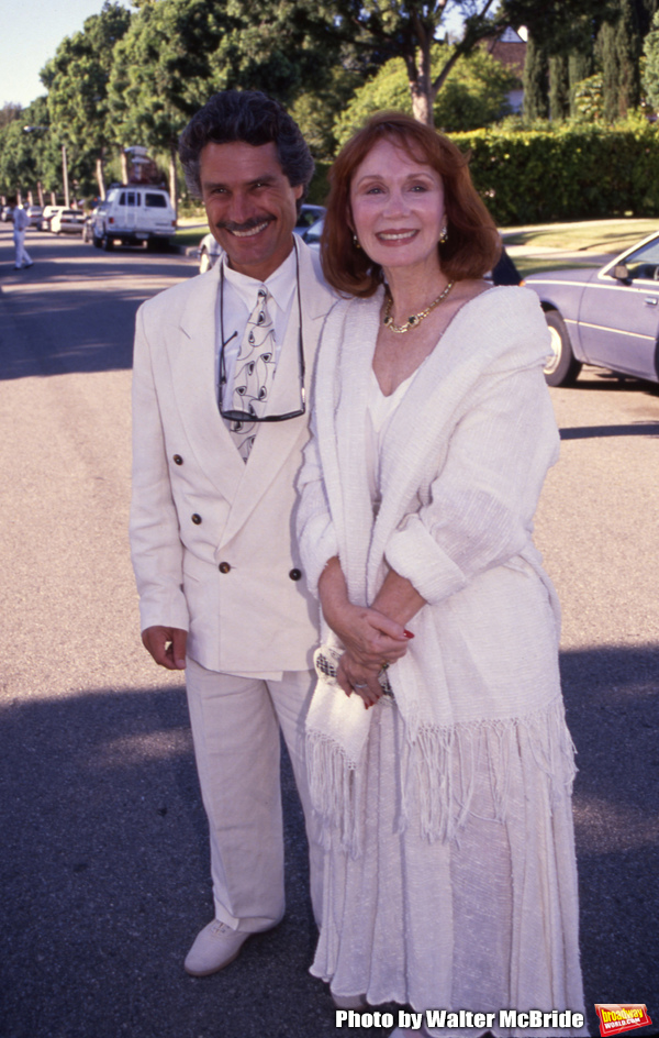 David Christian and Katherine Helmond attend a benefit on September 17, 1992 in Los A Photo