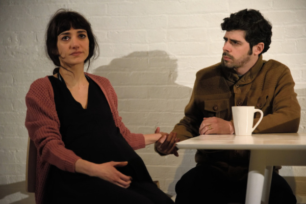 Sheila Vand (Anna) and Brian Miskell (Colin)  Photo Credit: Knud Adams