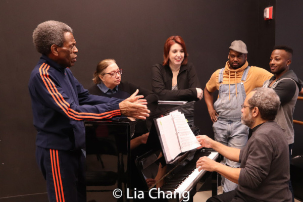 Director Andre De Shields, Costume Designer Gail Brassard, Choreographer Kimberly Sch Photo