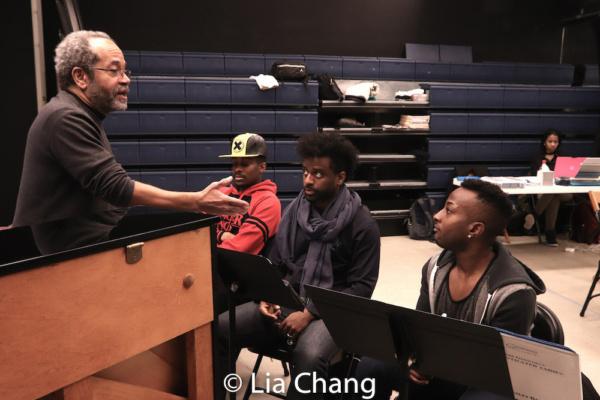Musical Director Nat Adderley, Jr., Lamont Brown, C.K. Edwards and Wesley Barnes