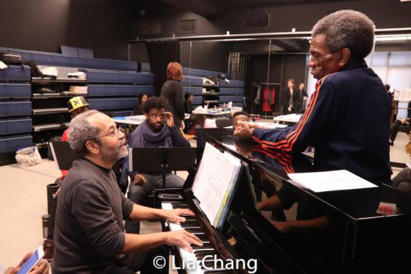Musical Director Nat Adderley, Jr., Lamont Brown, C.K. Edwards. Wesley Barnes and Director Andre De Shields