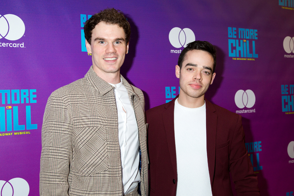 Photo Coverage: Lin-Manuel Miranda & More Walk the Red Carpet for BE MORE CHILL