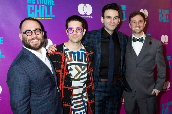 Stephen Brackett, Chase Brock, Joe Iconis, Joe Tracz Photo