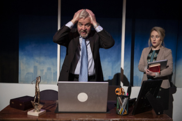 Photo Flash: First Look At SHAREHOLDER VALUE Off-Broadway