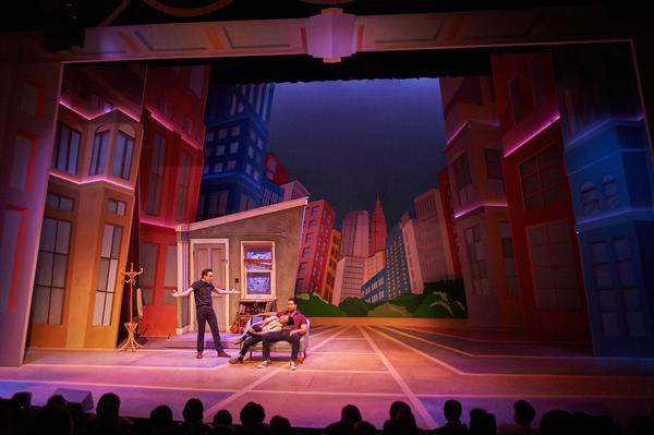 Photo Flash: First Look at Aurora Theatre's MEN WITH MONEY