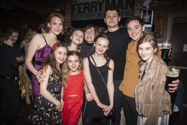 Holley Fain, Brooklyn Shuck, Ann McDonough, Sean Delaney, Terence Keeley, Carly Gold; Bella May Mordus, Matilda Lawler, Willow McCarthy