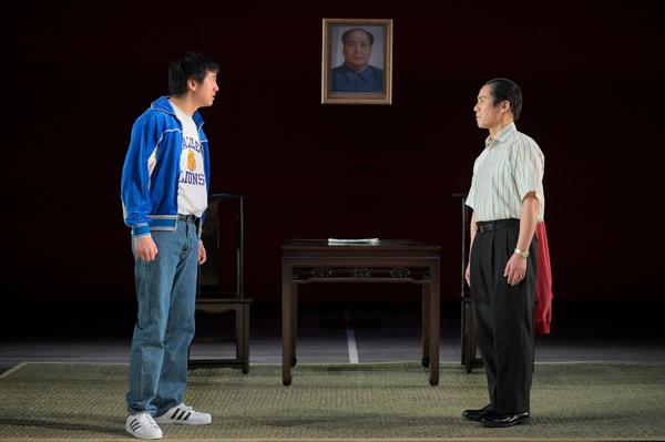 Tim Liu,BD Wong. Photo Credit: Kevin Berne