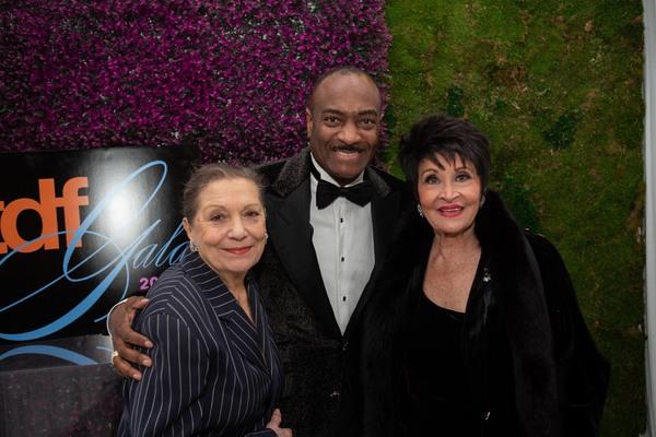Graciela Daniele, Reggie Van Lee, and Chita Rivera Photo