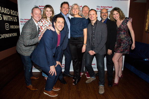 Photo Coverage: The Original [title of show] Gang Reunites to Benefit Actors Fund!