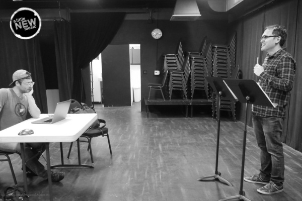 Photo Flash: Photo Flash: The Cast Of A LITTLE NEW MUSIC's 19th Edition In Rehearsal
