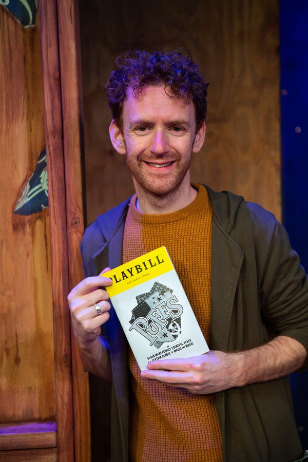 Photo Coverage: HARRY POTTER Alum Chris Rankin Visits PUFFS!