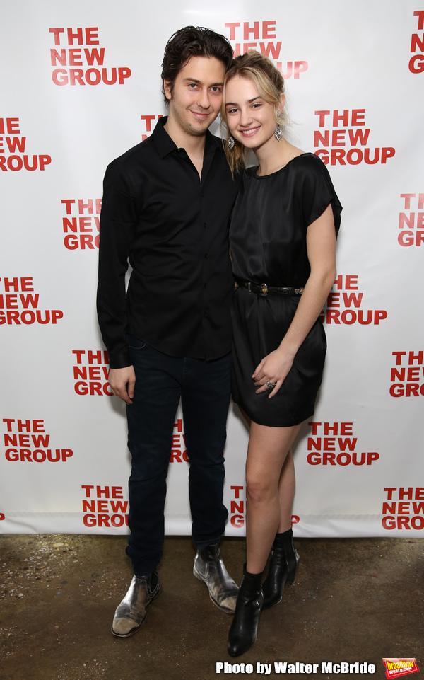 Nat Wolff and Grace Van Patten Photo