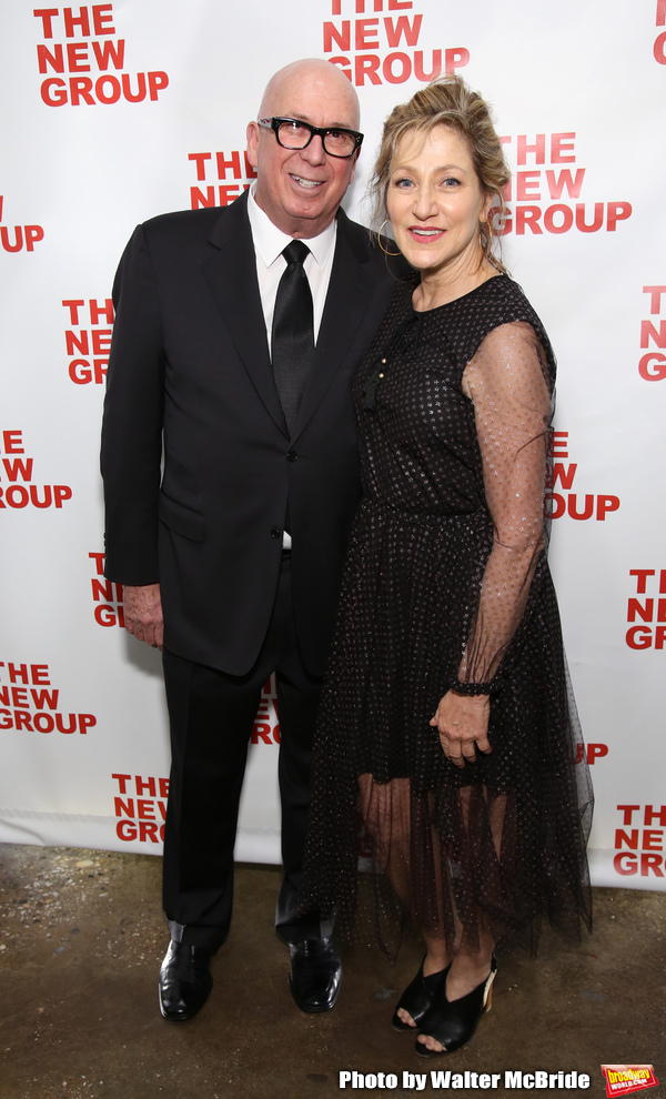 Serge Nivelle and Edie Falco