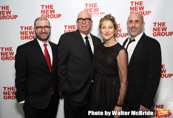 Adam Bernstein, Serge Nivelle, Edie Falco and Scott Elliott Photo