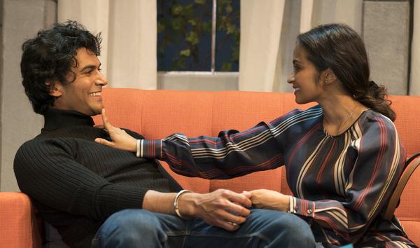 Sendhil Ramamurthy & Kavi Ladnier Photo
