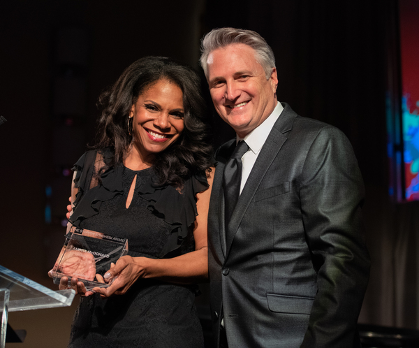 Audra McDonald and Eric Schaeffer  Photo