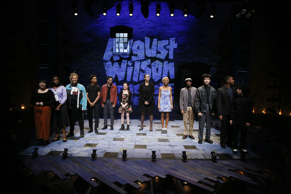 The finalists during the August Wilson Monologue Competition Los Angeles Regional Finals