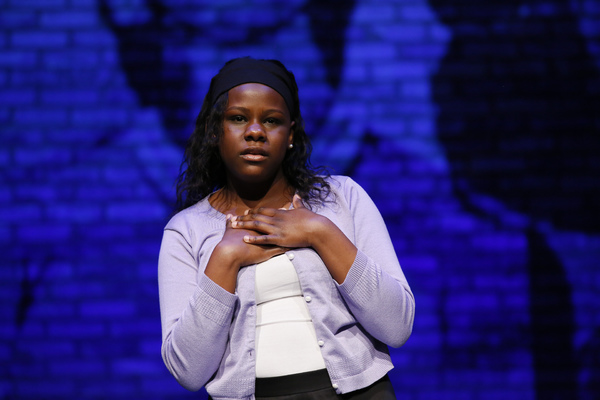 Laila C. Stewart performs during the August Wilson Monologue Competition Los Angeles  Photo