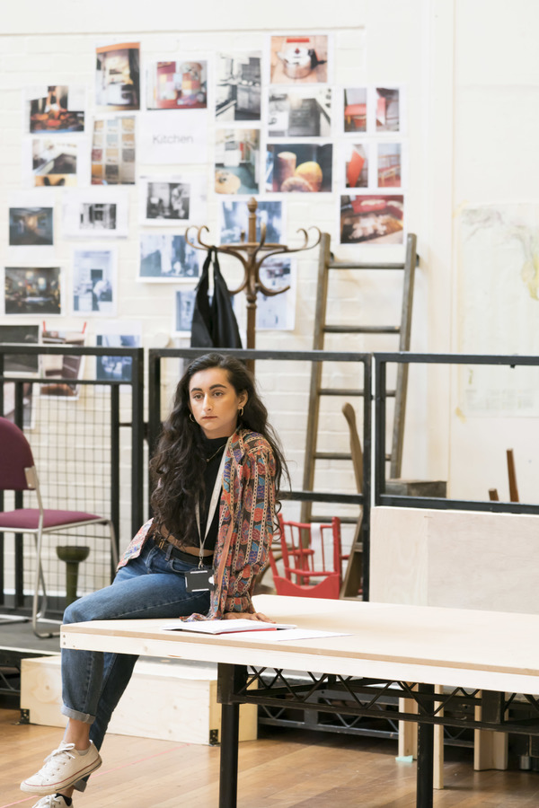 Photo Flash: Inside Rehearsal For TOP GIRLS at the National Theatre