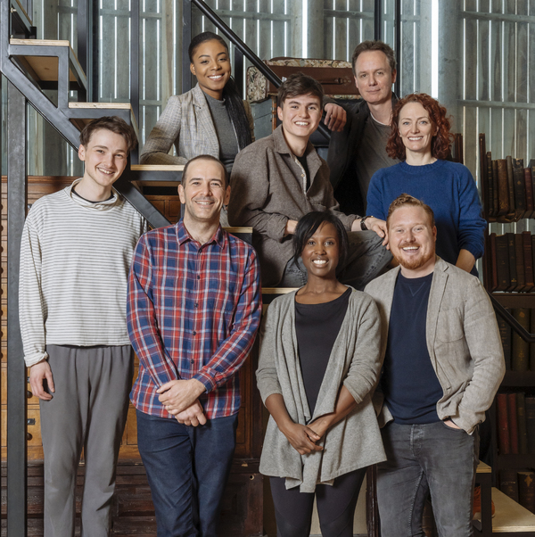 Photo Flash: The New West End Cast of HARRY POTTER AND THE CURSED CHILD Begins Rehearsals