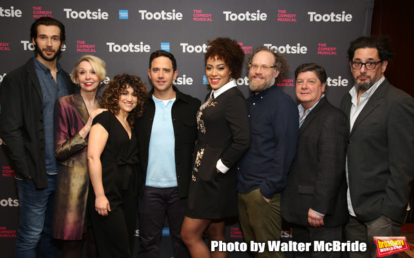FREEZE FRAME: Santino Fontana and the Cast of TOOTSIE Meet the Press!