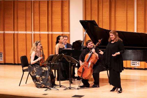 """Allison Charney and the Neave Trio discuss Jennifer Higdon's """"Piano Trio"""""""