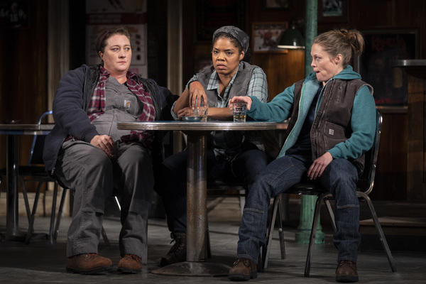 Kirsten Fitzgerald (Tracey), Tyla Abercrumbie (Cynthia) and Chaon Cross (Jessie) Photo