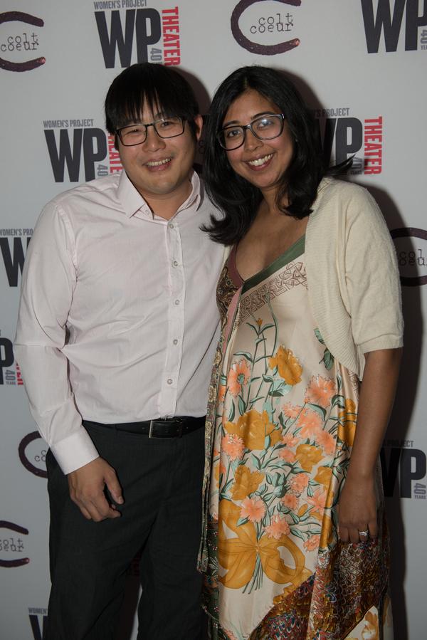 Mike Lew & Rehana Lew Mirza