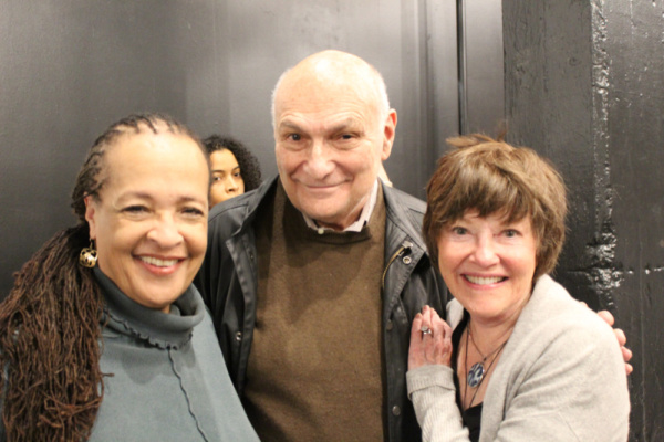 Photo of Franchelle Stewart Dorn (Chorus), Director Michael Kahn and Helen Carey (Cho Photo