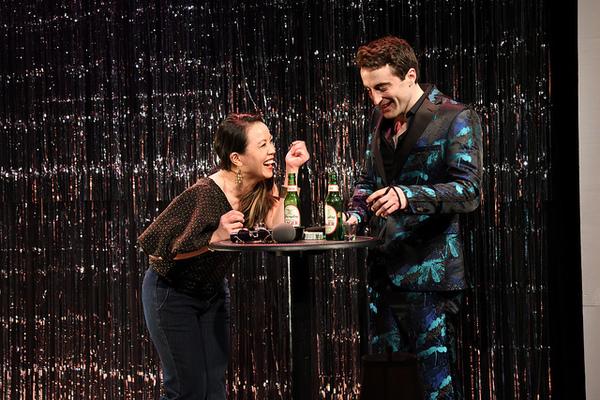 Tina Chilip as Tina and Charlie Thurston as Robbie.