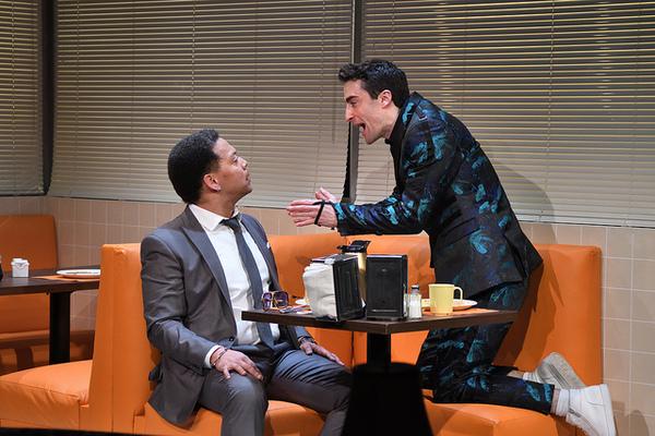Joe Wilson, Jr. as Joe and Charlie Thurston as Robbie.