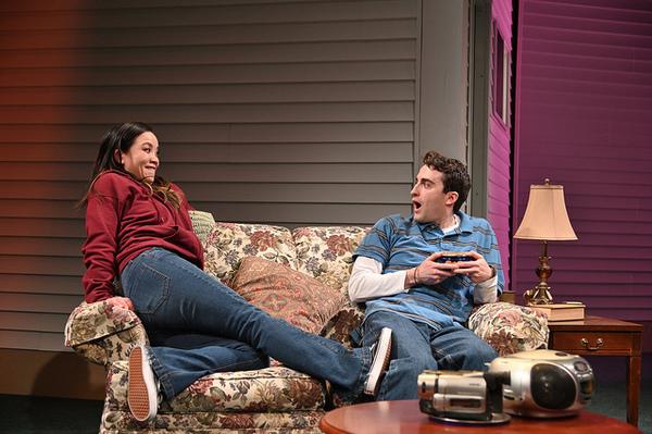 Tina Chilip as Tina and Charlie Thurston as Robbie