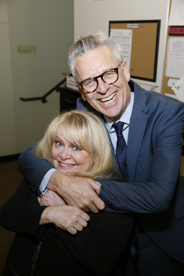 From left, actor Sally Struthers and Center Theatre Group Artistic Director Michael Ritchie