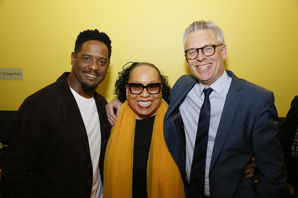 From left, actors Blair Underwood, Roz Ryan and Center Theatre Group Artistic Director Michael Ritchie. Photo Credit: Ryan Miller/Capture Imaging