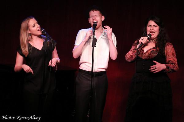 Abby Mueller, Max Chernin, Florrie Bagel Photo