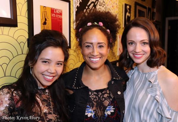 Catherine Ricafort, Ashley Blanchet, Rachel Prather