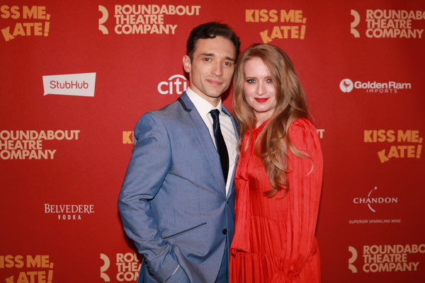 Photo Coverage: Kelli O'Hara, Will Chase & More Celebrate a Wunderbar Opening Night for KISS ME, KATE!