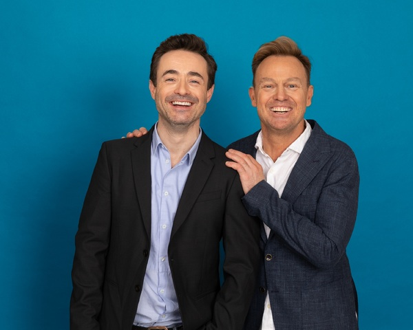 Joe McFadden and Jason Donovan Photo