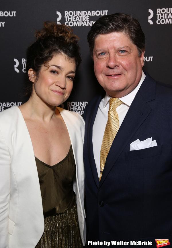 Sarah Stiles and Mark McGrath