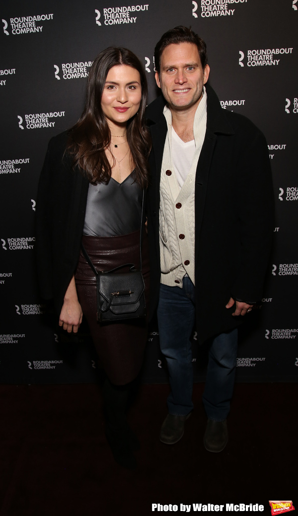 Phillipa Soo and Steven Pasquale