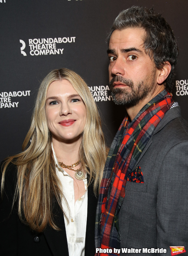 Lily Rabe and Hamish Linklater Photo